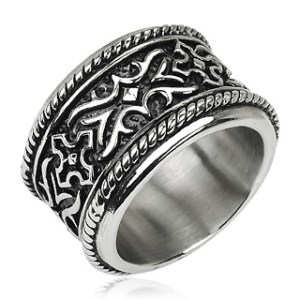 ring-mens-stainless-steel-wide-band-armour-tribal-knight