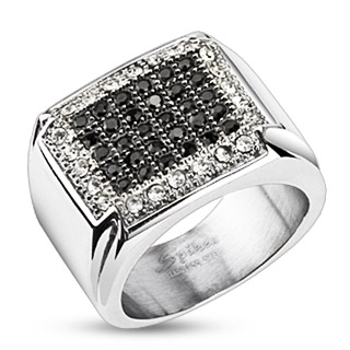 ring-mens-stainless-steel-wide-band-micro-paved-multi-black-clear-CZs