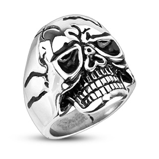 ring-mens-stainless steel-wide-cast-cracked-mask-death-skull
