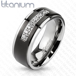 ring-mens-titanium-black-IP-centre-string-micro-paved-CZs-band
