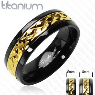 ring-mens-titanium-gold-black-accented-band