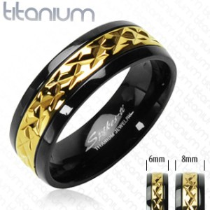 ring-mens-titanium-gold-black-accented-band