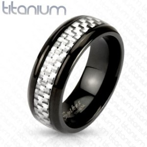 ring-mens-titanium-white-silver-carbon-fiber-inlay-centre-band-black-IP