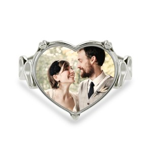 Wholesale-Color-Photo-Engraved-Heart-Ring-Memorial-Gift-White-Gold-Color