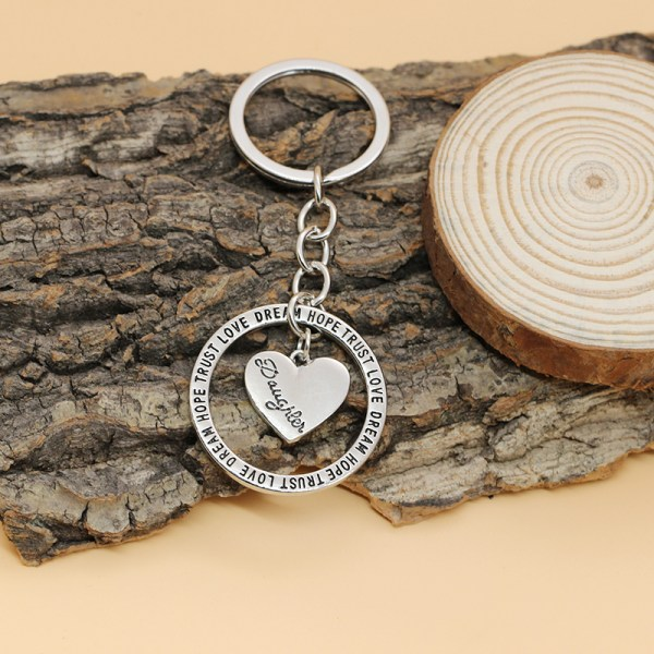 XIAOJINGLING-Fashion-Women-Keychains-Keyring-Keyfob-Charming-Women-Jewelry-HOPE-TRUST-LOVE-DREAM-Daughter-Gifts-Graduation