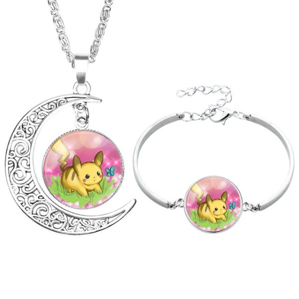 NingXiang-Popular-Game-Pokemon-Go-Pikachu-Glass-Cabochon-Moon-Pendant-Silver-Color-Chain-Necklace-Bracelet-Jewelry_jpg_64