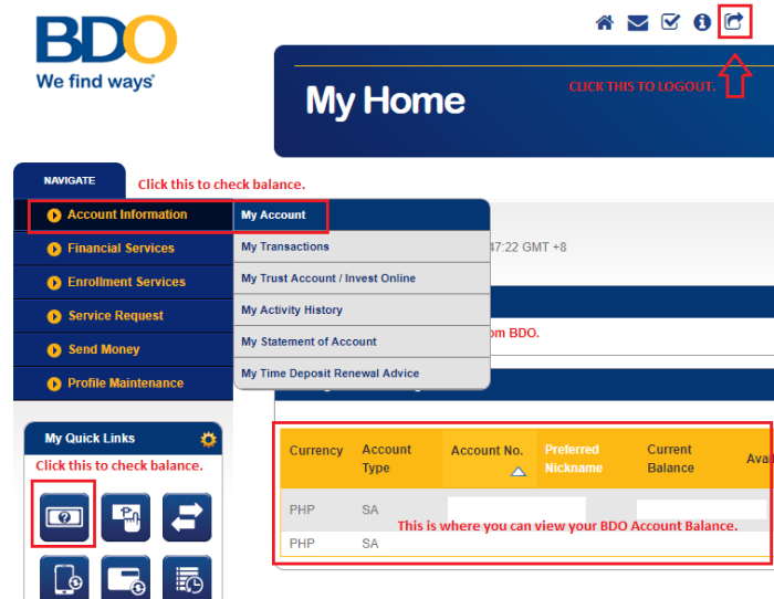 Here's How to Check your BDO Balance Online! - Your Kind