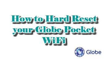 How to Change Globe Pocket WiFi Name and Password - Your Kind Neighbor