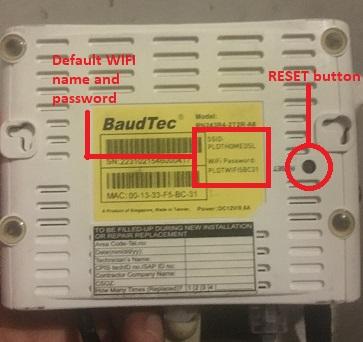 PLDT-wifi-router