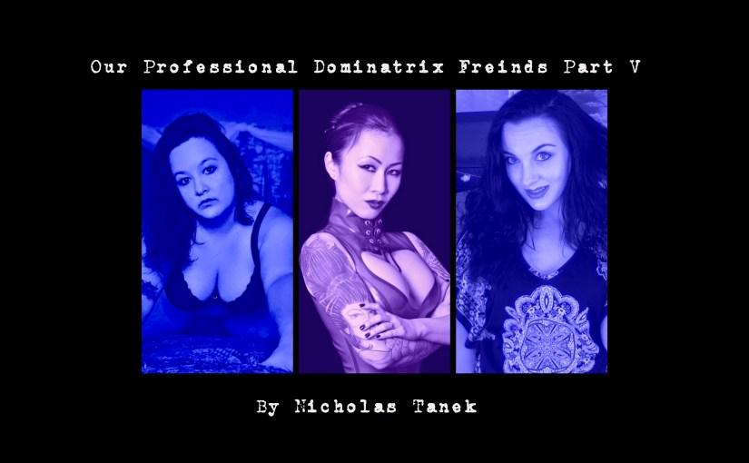 Our Professional Dominatrix Friends Part V by Nicholas Tanek