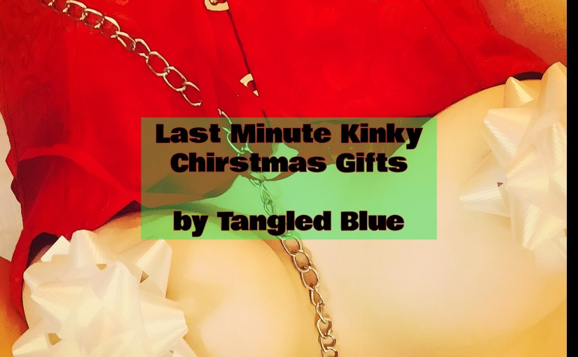 Last Minute Kinky Christmas Gifts by TangledBlue