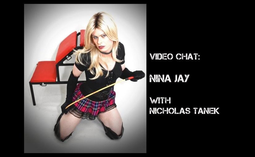VIDEO CHAT: Nina Jay with Nicholas Tanek