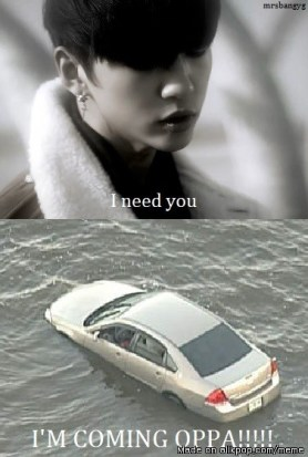 Bang Yong Guk B.a.p i need you oppa meme