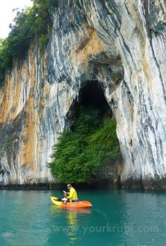 Kayaking Koh Hong