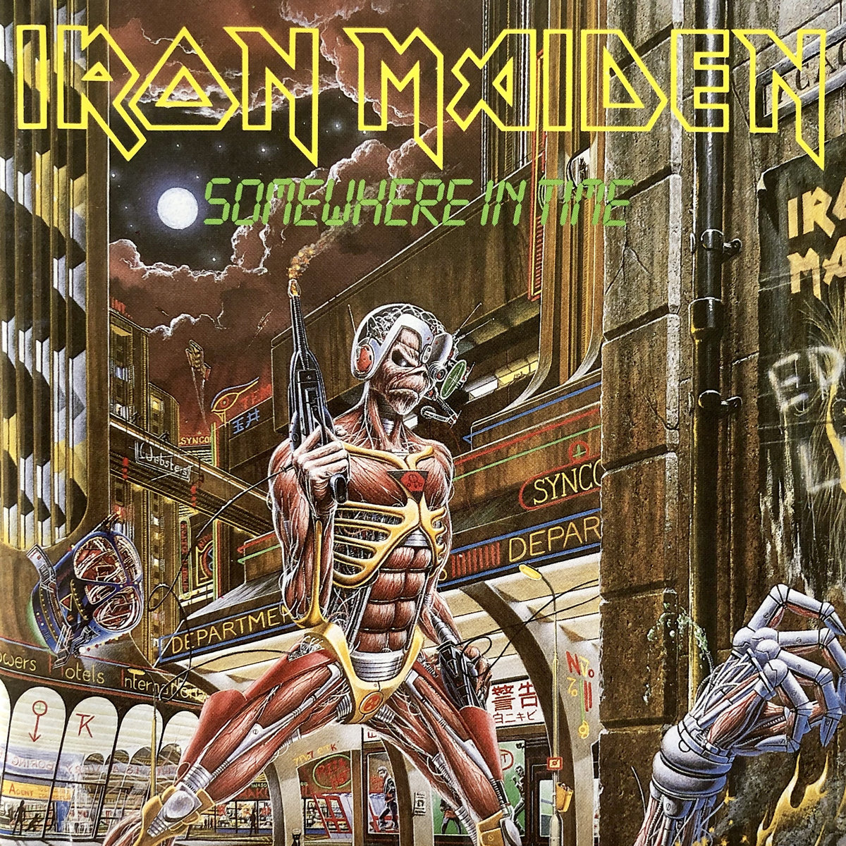 Diamonds & Rust: Iron Maiden – Somewhere In Time, A