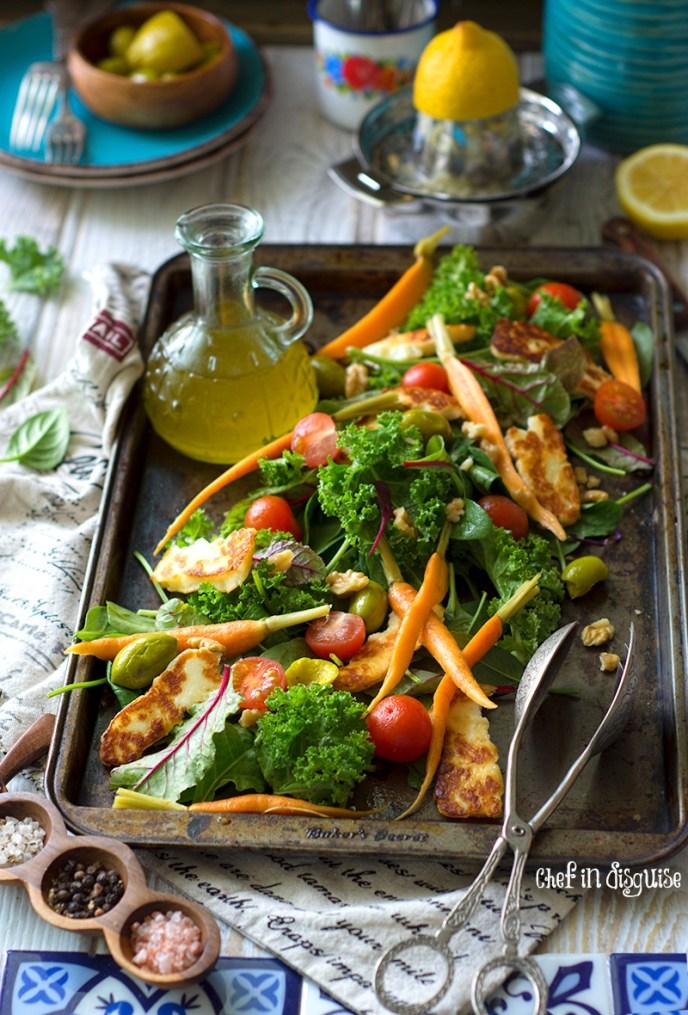 Halloumi salad 2