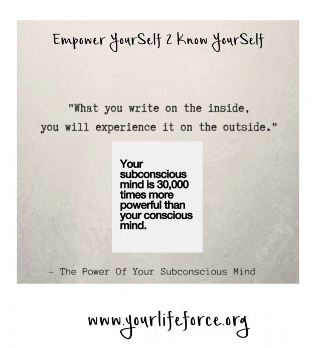 empower yourself to know yourself