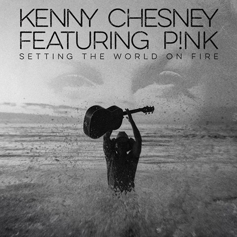Kenny Chesney Releases 'Setting The World On Fire' Featuring P!nk