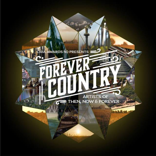 CMA Announces 'Forever Country' Single and Music Video