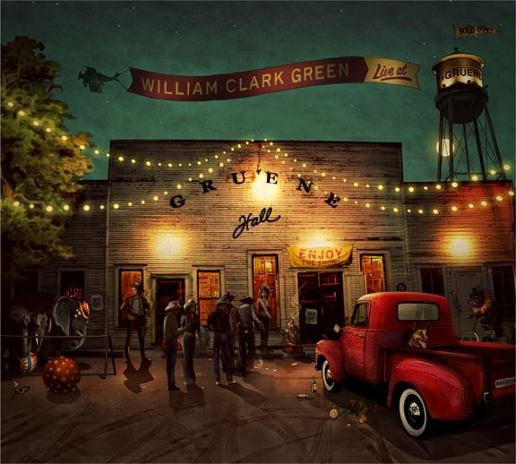REVIEW: William Clark Green – Live At Gruene Hall (Live Album)