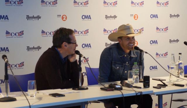 C2C PRESS CONFERENCE: Dustin Lynch