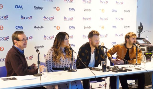 C2C PRESS CONFERENCE: Lady Antebellum