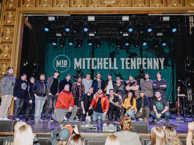 Mitchell Tenpenny Wraps 'Anything She Says' 2019 Tour In NYC