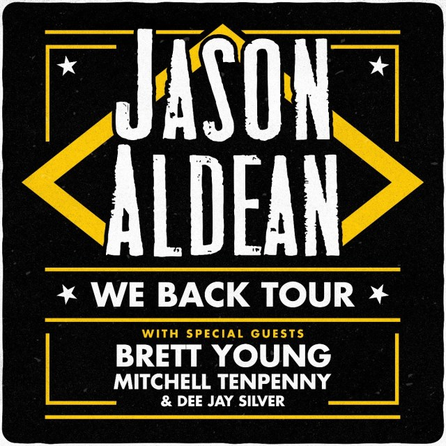 Jason Aldean Extends 2020 'We Back' Tour