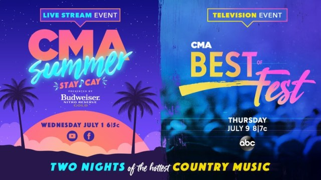 CMA To Host 2 Nights Of Country With ABC Special & Live Stream Event