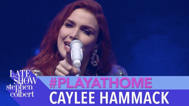 Caylee Hammack Performs 'Just Friends' On The Late Show With Stephen Colbert