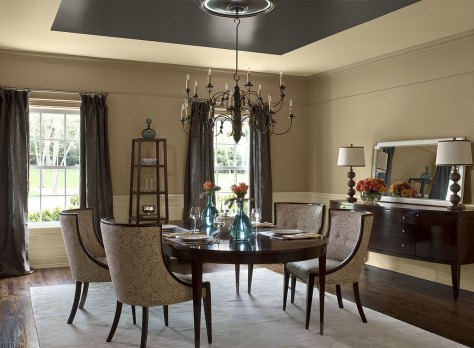 monochromatic-dining-room