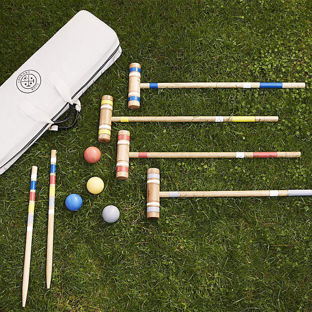 Croquet-Set