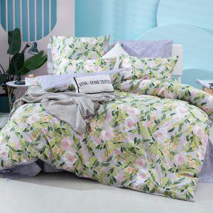 Комплект постельного белья Делюкс Сатин L403
