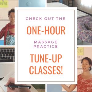 massage practice tune-up classes