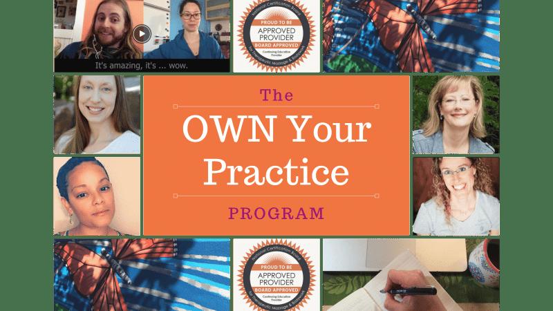 OWN Your Practice Program
