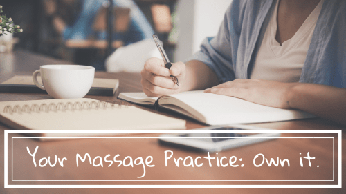 your massage practice webinar