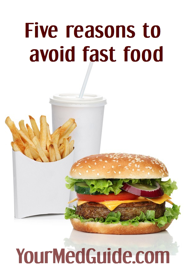 five reasons to say no to fast food