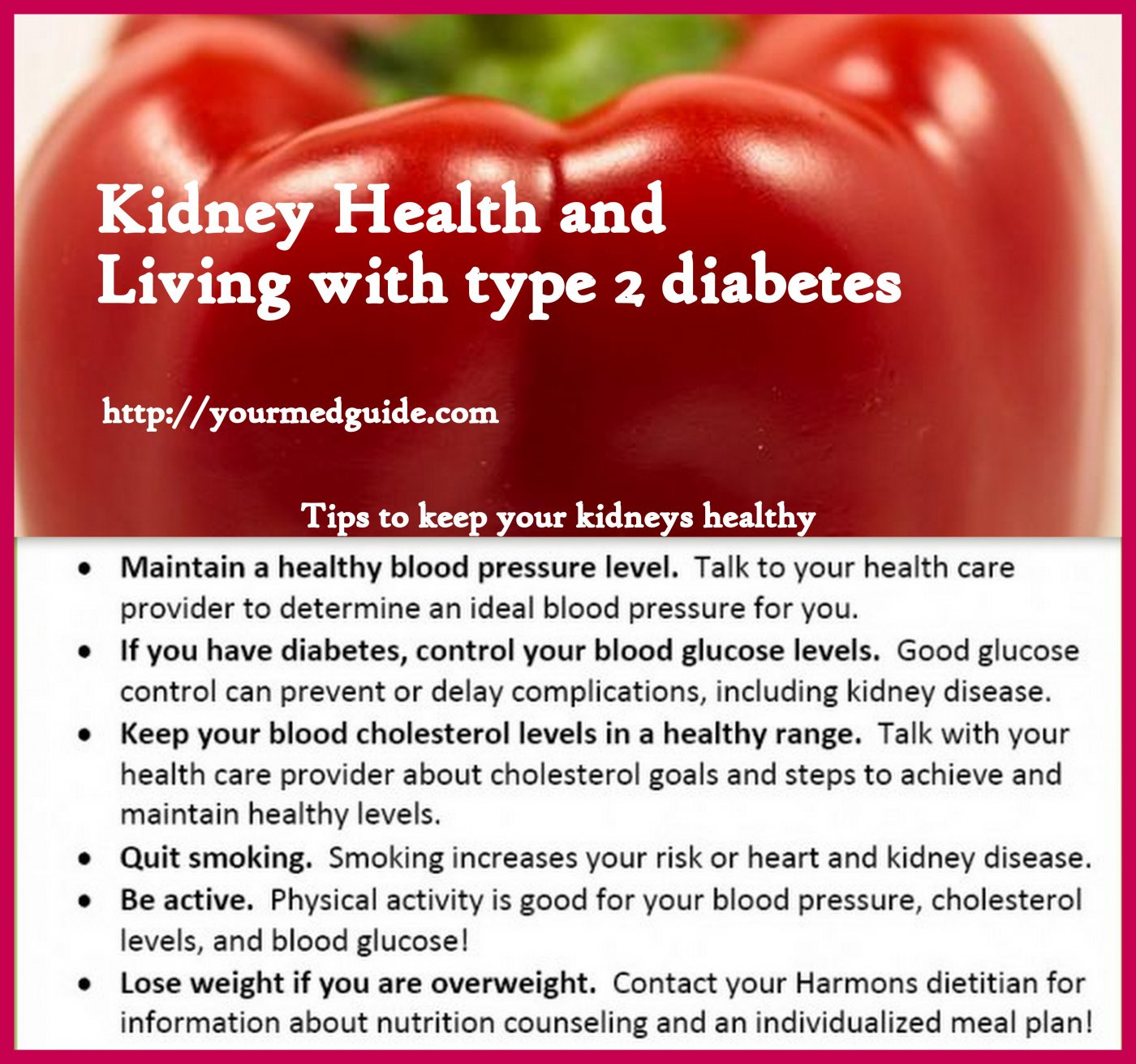 Kidney Health and Diabetes - Be Healthy, Be Happy
