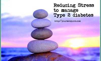 reducing stress to manage diabetes