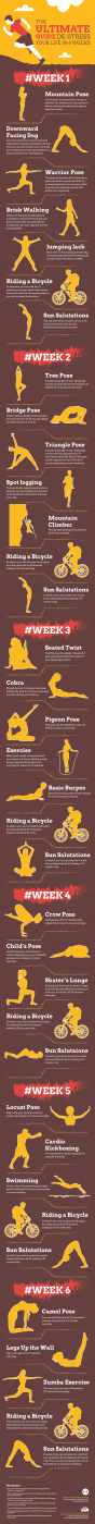 Yoga for stress relief A 6-week plan