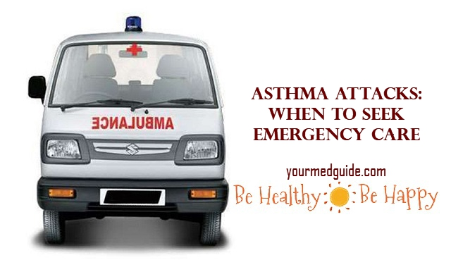 Asthma Attacks: When to Seek Emergency Care #health #asthma #medicalemergency