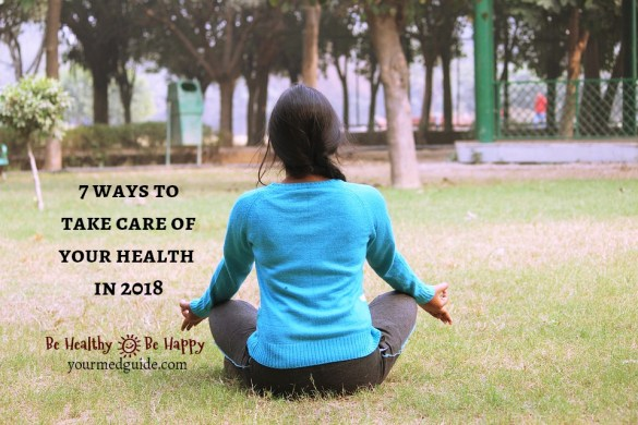 7 ways to take care of your health in 2018 #health #resolutions #lifestyle #tips
