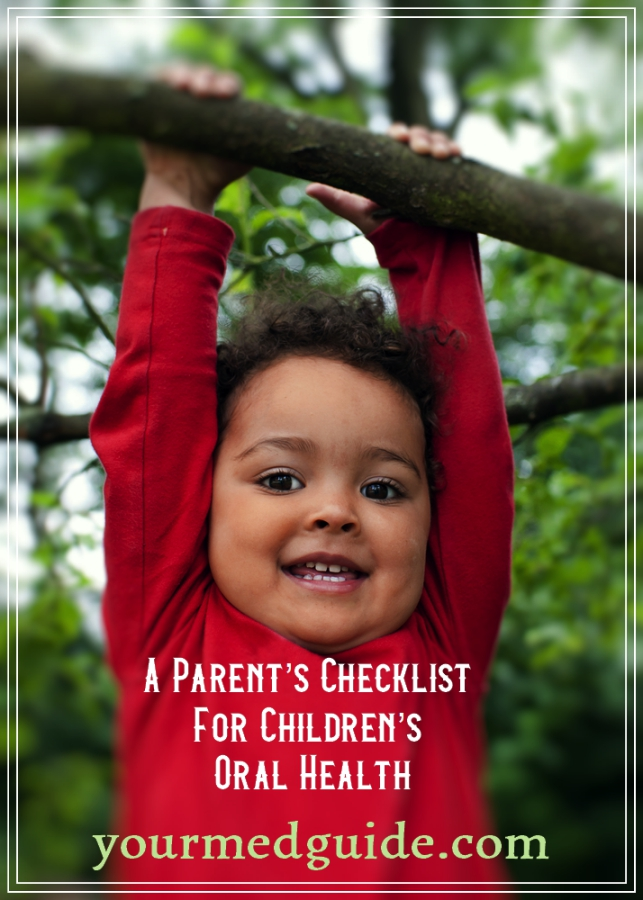 If you're concerned about your kids' dental health and the impact it may have on their development, the following checklist contains all the information you need to know about each stage of their development. #oralhealth @kidshealth