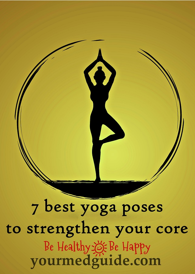 7 yoga poses to strengthen your core #yoga #corestrength #Fitness