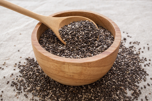 chia seeds - ten protein packed vegan weight loss foods