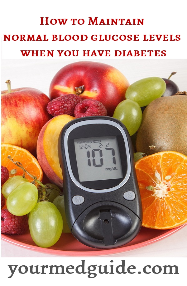 How to maintain normal blood glucose levels when you have diabetes #diabetes #livingwithdiabetes #tips