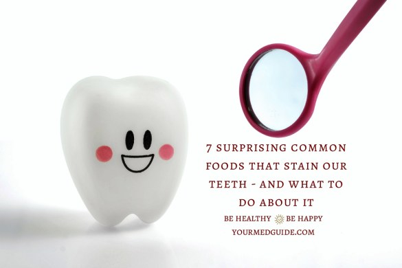 7 surprising foods that stain our teeth #oralhealth