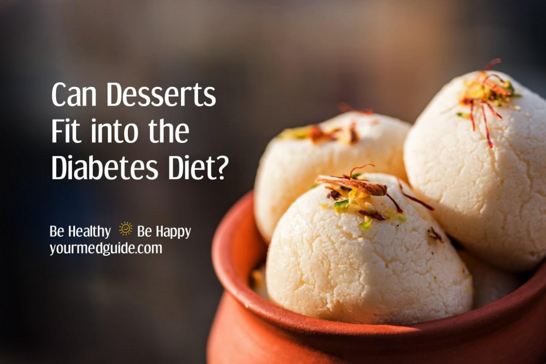 Can Desserts Fit into the Diabetes Diet? #diabetes #diabetesdiet #livingwithdiabetes