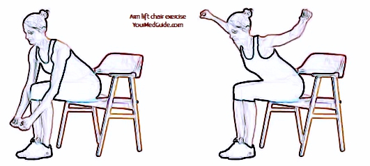 Exercise 4 chair