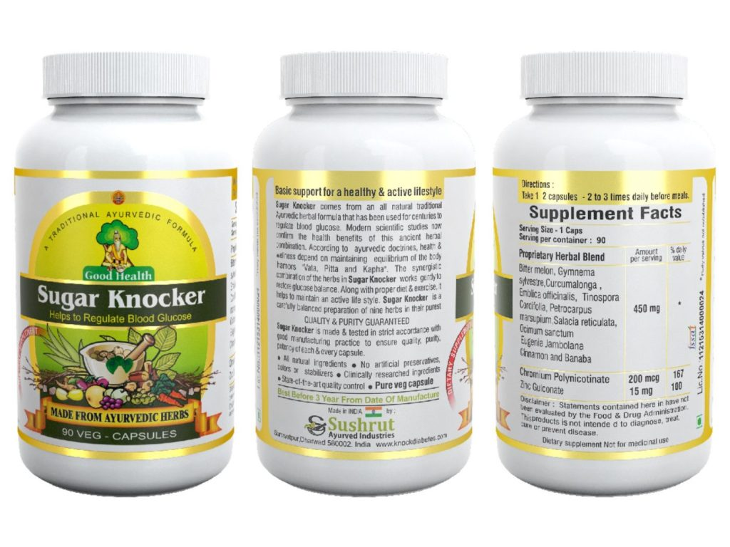 Sugar Knocker for diabetes - diabetes treatment in ayurveda Sugar Knocker Review